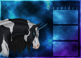 Layout for C e r v i d a e by WhimsicalRuby