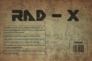 Rad-x label by emptysamurai
