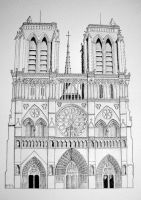 Notre-Dame de Paris by dominikmellen