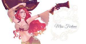 Miss Fortune by Monichee