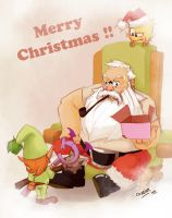 Merry Christmas Slage by Ocarian