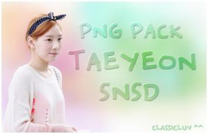 Taeyeon (SNSD) PNG Pack by classicluv