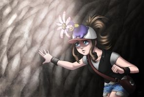 Lileep Uses Flash by linnyxito
