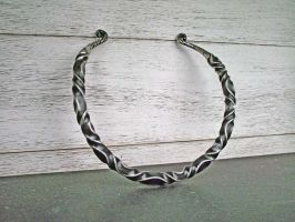 Heavy Celtic Torc by ou8nrtist2