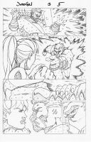 Judo Girl Issue 3 page 5 by greggpaulsen