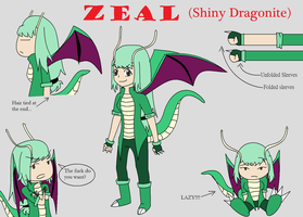 PGH- Zeal the shiny Dragonite by aki1iniriki