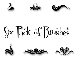Photoshop Brushes - Swirls by ai-forte