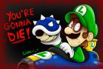 Luigi's Death Stare by SuperLakitu
