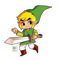 Chibi Link by Willow-San
