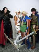 Lodoss Wars at Fanime 2011 by Kapalaka