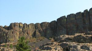 Volcanic Cliffs by FoxStox