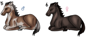 Point Adoptables (1st Gen Foals, Set Two) by Blavi