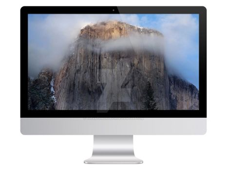 iMac Mock up by theanthnonyrich