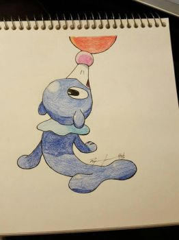 Popplio by qprawn