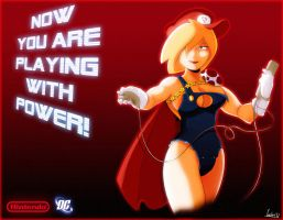 Nintendo Power Girl by JimSam-X