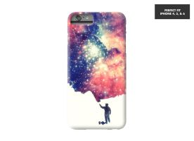 Painting the Universe Phone case @threadless by mrsbadbugs