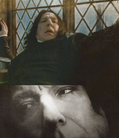 Snape's death by CharlieSnape