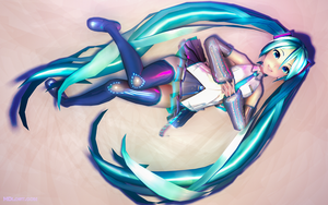 V3 Miku by RiStarr