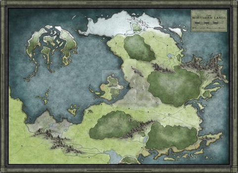 Regional Map for sale by Mimine09
