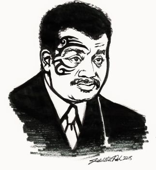 Mike deGrasse Tyson by mouseshadow
