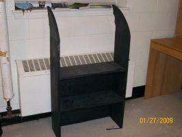 Batwing Bookcase by Dragon-hobbit101