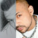 Sean Paul portrait by DeryaJuelide