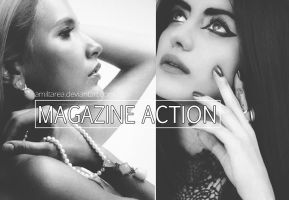 Magazine BW Action by Amiltarea