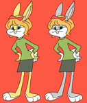 Honey Bunny (Bugs Bunny's girlfriend) - 1960's by Ivellios1988