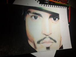 Johnny Depp by Draw4fun2