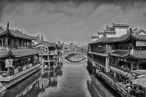 Qibao Old Street Canal by astra888