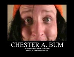Chester A. Bum by LJPhil