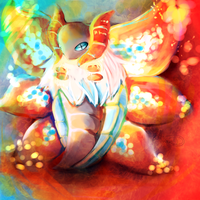 Pokedex Challenge #1: Flame Bug by WendySakana