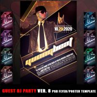 GUEST DJ PARTY VER. 8 by MCerickson