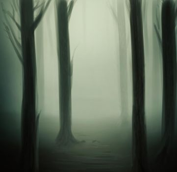 speedpaint: forest by welcometodai