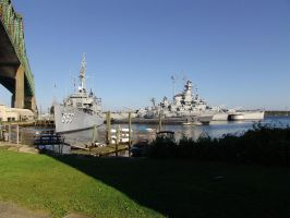 Battleship Cove Museum by Skoshi8