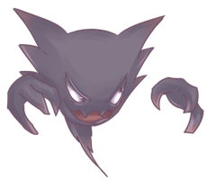 Ghost | Haunter Commission 2 by AutobotTesla
