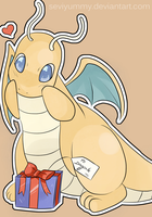 Dragonite's Present by SeviYummy