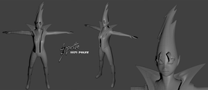 Sprite 3D Model by Lightrail