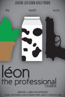 Leon the Professional Poster 2 by Vazguard