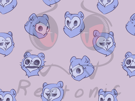 Taum Pattern Background by Reptonic
