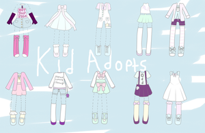 OTA Outfits Adopts: OPEN by KidAdopts
