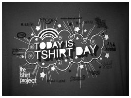 Today is Tshirt Day by pinkblot6