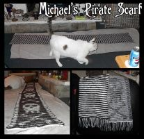 Illusion Pirate Scarf by crazed-fangirl