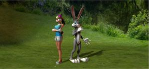 Hare of a Pair by HectorNY