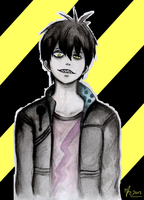 Blood Lad - Staz by ina2107