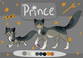 Prince Reference Sheet by shortini