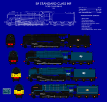 BR Standard Class 10F by SimonLMoore