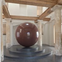 LARGE RED SPHERE ... in Munic by oscar-chen
