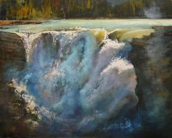 Athabasca Bellows by artistwilder