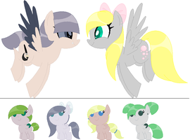Breedable Babies 3- Two Open by PyscoSnowflake
